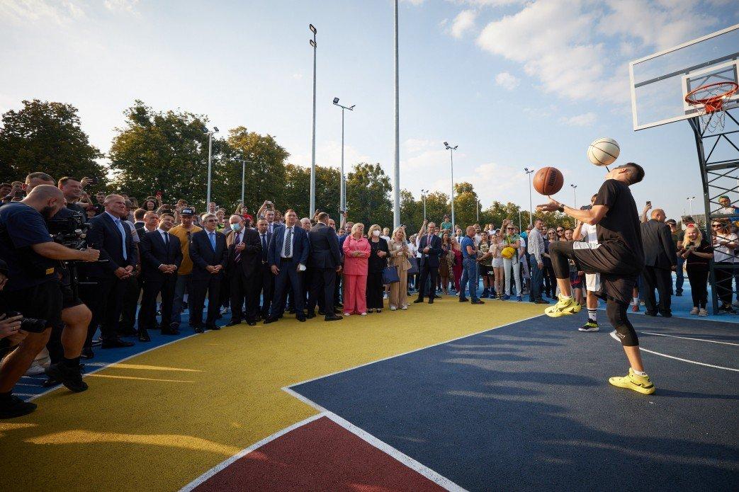 У Львові у 2022 році буде відкрито урбан-парк, - Зеленський, фото-2, Фото: Офіс президента