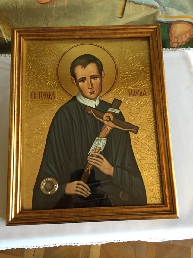 Ікона з мощами святого Герарда
