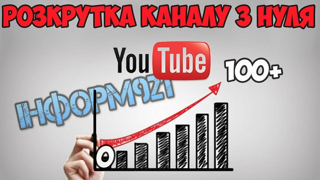 Як можна швидко та безкоштовно розкрутити свій канал YouTube