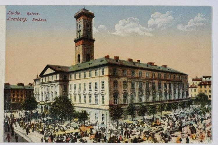 стара будівля львівської ратуші
