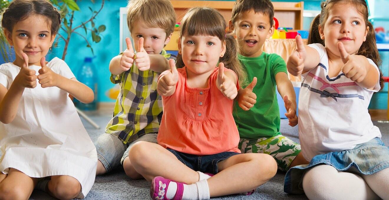 дитячий колектив на заняттях