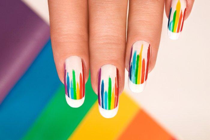 веселий дизайн нігтів в домашніх умовах