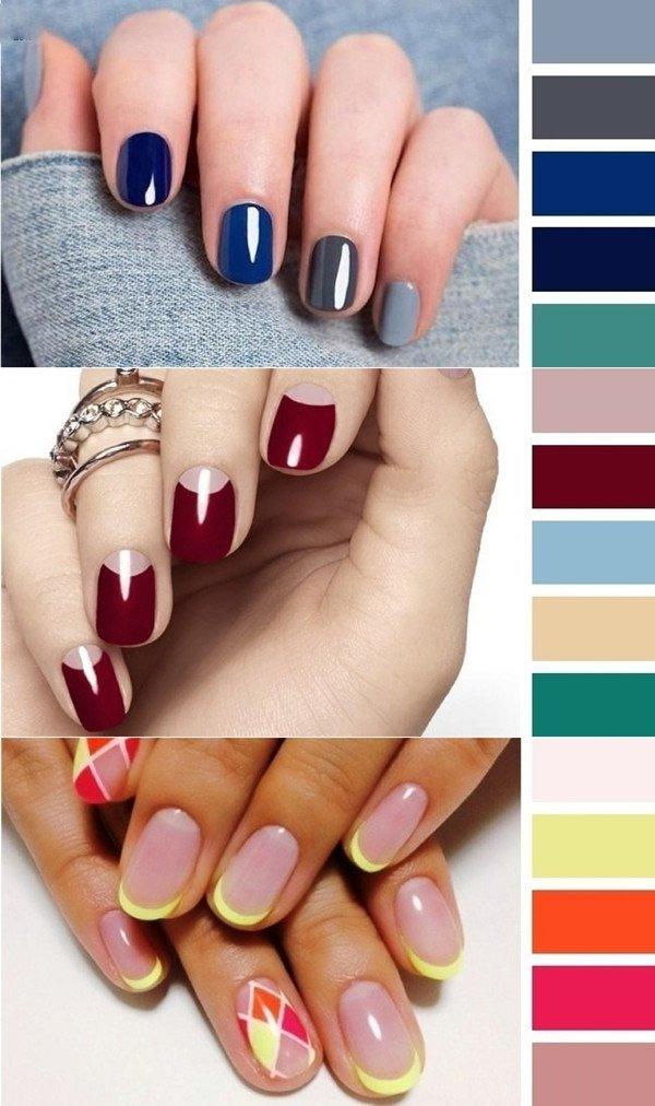 кольорова палітра для дизайну нігтів